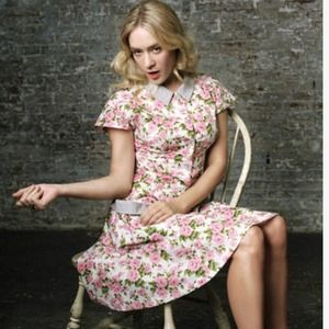 Chloe Sevingy Opening Ceremony floral dress